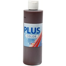 Plus Color-askartelumaali, 250 ml, suklaanruskea