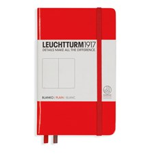 LT NOTEBOOK A6 Hard red 185 p. plain