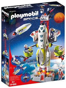 Marsraket med avfyrningsplats, Playmobil Space (9488)