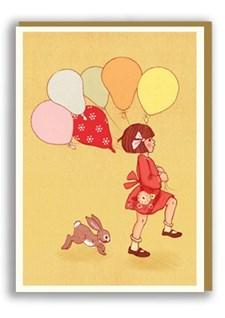 Kortti ja kirjekuori Balloon Nineteenseventythree