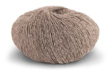 Knit At Home Superfine Alpacka Merino Garn Ullmix 50 g Beige Melange 107