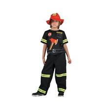 Barndräkt Brandman, Strl 5-7 år, Summertime
