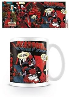 Deadpool Mugg Comic