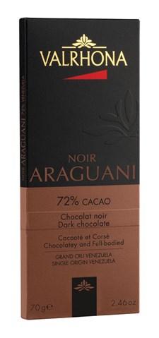 Valrhona Choklad Araguani 72% 70 g