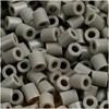 Rørperler, str. 5x5 mm, hullstr. 2,5 mm, 6000 stk., askegrå (8)