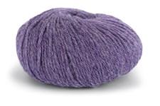 Knit At Home Classic Alpaca Wool Garn Ullmix 50 g Lilla Melert 523