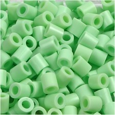 Rörpärlor 5x5 mm 1100 st Pastellgrön