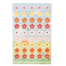 Klistremerker, Filt, Smørblomst, 10 x 19 cm