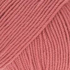 Drops Baby Merino Uni Colour Garn Ullgarn 50g Rose 46