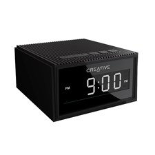Creative Chrono BT Wireless Speaker with Alarm Clock & Radio (Black)