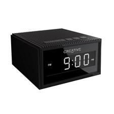Creative Chrono BT Wireless Speaker with Alarm Clock & Radio (Black)