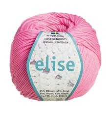 Elise Garn Bomullsmix 50g Pastell Rosa (69210)