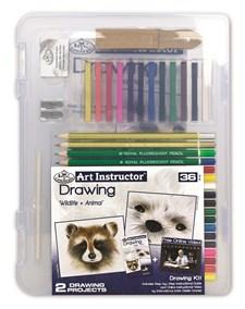 Clearview-pakattu piirustuskynäsetti – Art Instructor, Royal & Langnickel