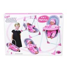 Lissi Baby Boutique Dockmatstol 4 i 1