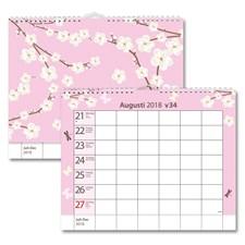 Väggkalender 18-19 Burde Hemkalendern