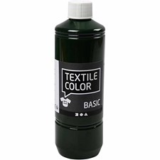 Textil Color, 500 ml, olivengrønn