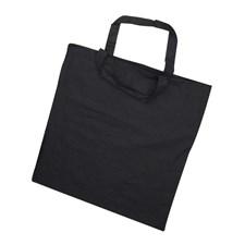 Mulepose, str. 38x42 cm,  135 g/m2, svart, 1stk.