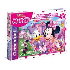 Pussel Minnie happy helpers, 104 bitar, Clementoni