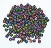 Bokstavspärlor neonfärg Playbox