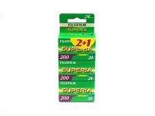 Färgfilm ISO200 135/24 FujiFilm 3-PACK