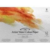 Spiralblock med Akvarellpapper 31x23 cm 300g 12 Ark