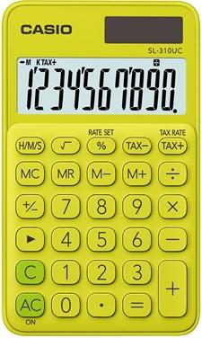 Casio miniräknare SL-310 UC YG