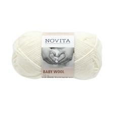 Novita Baby Wool villalanka 50 g valkoinen 011