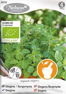 Oregano, Kungsmynta, Organic