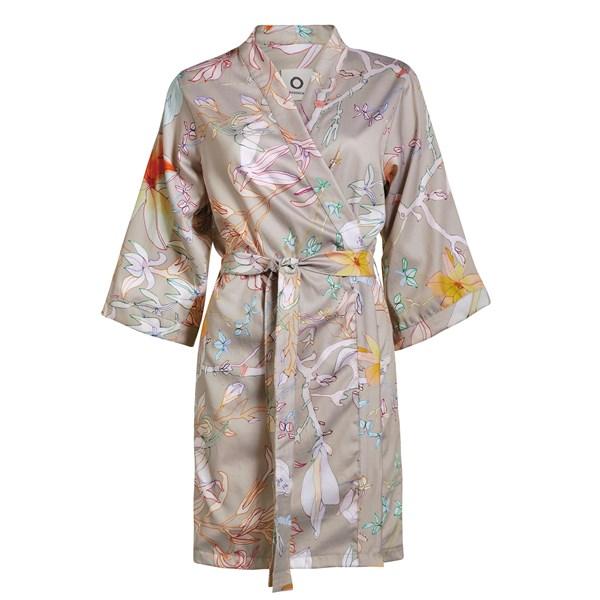 Essenza Home Brohna Kimono Bomulls Satin Medium Sten (grå)