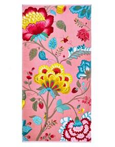 Pip Studio Floral Fantasy Håndkle 100% Bomull 70x140 cm Rosa
