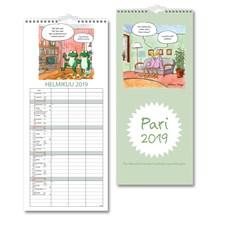 Perhekalenteri 2019 Burde Pariskuntakalenteri