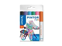 Pintor DIY-tusjer 6 stk. Ass Regular Mix - Medium