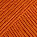 Drops Muskat Bomullsgarn 50g Mörk Orange (49)