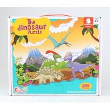 Puslespill, Dinosaur, 208 brikker