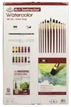 Komplett Set för Akvarellmålning Online Instruktioner Royal & Langnickel