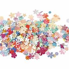 Paljetter Blommor 5-20 mm Mix 10 g