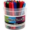 Colortime-tussit, värilajitelma, paksuus 5 mm, 42 kpl/ 1 pkk