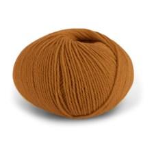 Dale Garn Pure Eco Baby Wool Økologisk Ull 50 g Mørk Oker 1334