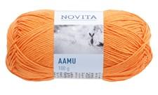 Novita Aamu Garn Bomullsmix 100 g mandarin 278
