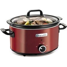 Crock-Pot Slowcooker Manuell 3.5 L Röd