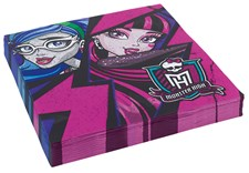 Monster High servetter, 20 st