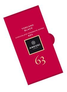 Amedei Chokladkaka Toscano Black 63% 50 g