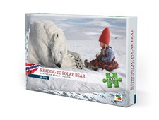 Pussel 1000 bitar, Reading To Polar Bear, Norway (NO/EN)