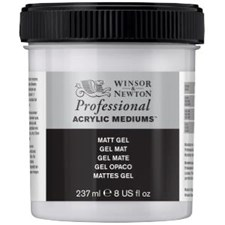 Professional Akryl Medium Matt Gel Winsor & Newton 250 ml