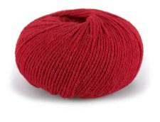 Dale Garn Pure Eco Wool Ekologisk Ull Alpacka 50 g Klarröd 1224