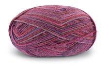 Dale Garn Alpakka 50 g Print Purple/Lilac/Burgunder 9952