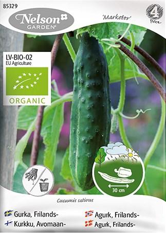 Gurka, Frilands-, Marketer, Organic