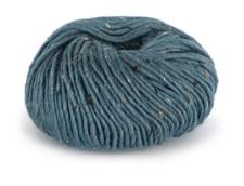 Du store Alpakka Tweed Garn Ullmix 50 g Blå 104