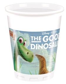 Den Gode Dinosaurien Plastmuggar, 8 st