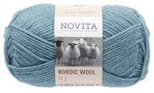 Novita Nordic Wool Garn Ullgarn 50 g, vatten 116